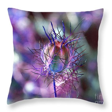 Pod Play Throw Pillow by Gwyn Newcombe