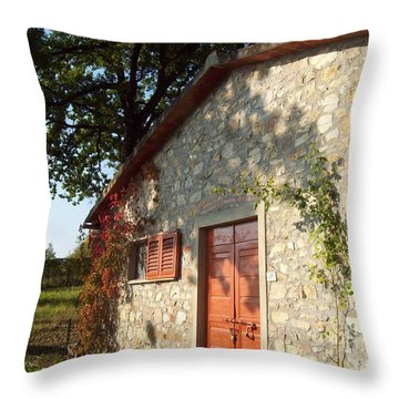 Podere Maria-cristina Throw Pillow