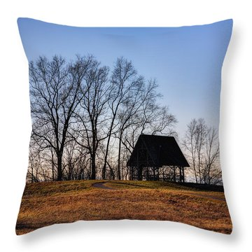 Poets' Walk Throw Pillow