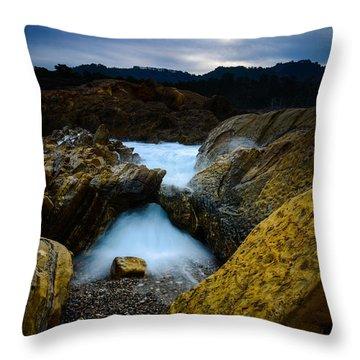 Point Lobos Big Sur Sea Arch Throw Pillow