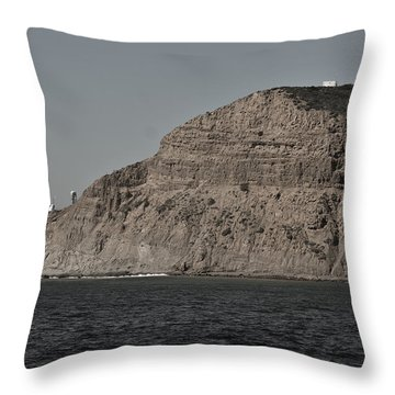 Point Loma Ca Throw Pillow