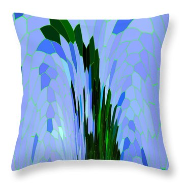 Point Of View Throw Pillow by Mariarosa Rockefeller