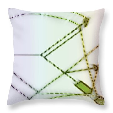 Point-out Projection Throw Pillow