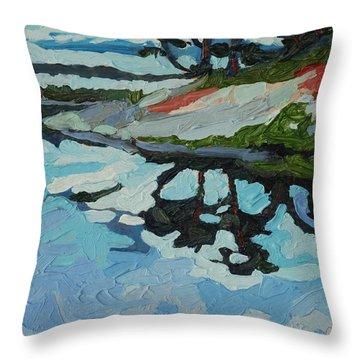 Point Paradise Throw Pillow