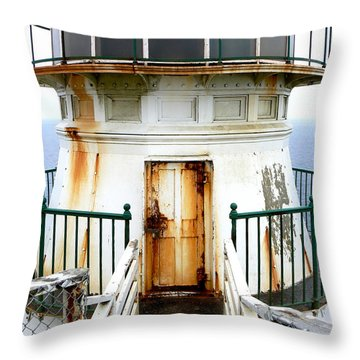 Point Reyes Historic Lighthouse Throw Pillow