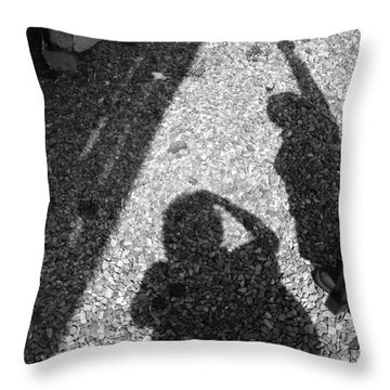 Point The Way Throw Pillow by Lyric Lucas
