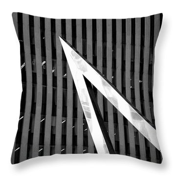 Pointy Throw Pillow by Valentino Visentini