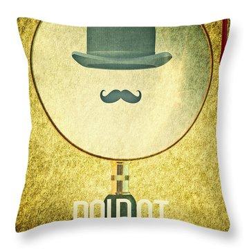 Poirot Throw Pillow
