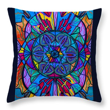 Poised Assurance Throw Pillow