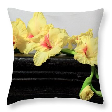 Poised Glady Throw Pillow