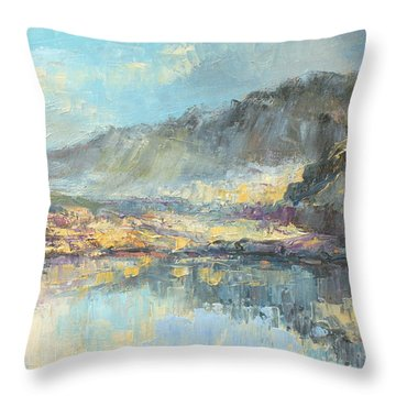 Poland - Tatry Mountains Throw Pillow