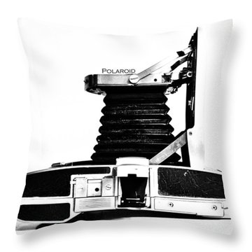 Polaroid Land Camera 95b 2 Throw Pillow