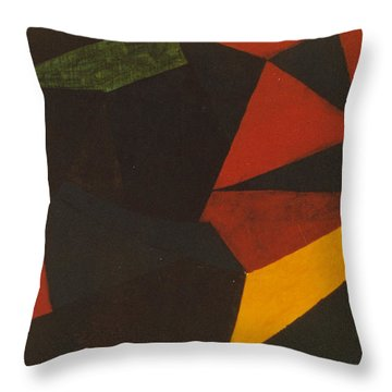 Poliakoff Homage 1972 Throw Pillow