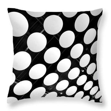 Polka Dots Throw Pillow by Ann Horn