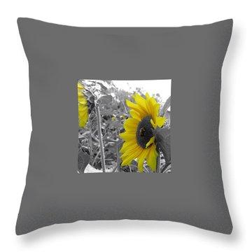 Pollen Power Throw Pillow by Nikki McInnes