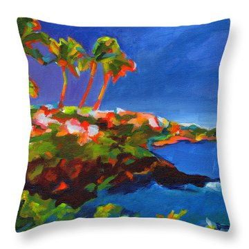 Polo Beach. Maui Throw Pillow