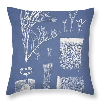 Polyopes Polyideoides Okamura Throw Pillow by Aged Pixel