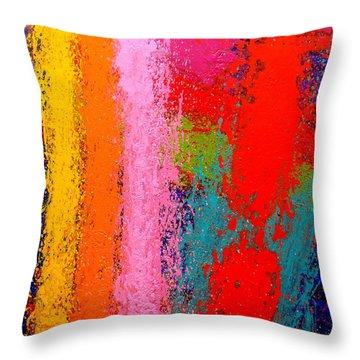 Polyphony IIi Throw Pillow by John  Nolan