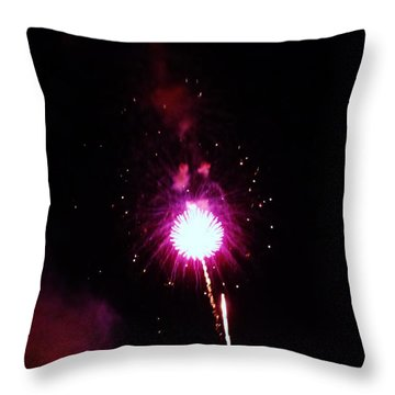 Throw Pillow featuring the photograph Pom Pom by Amar Sheow