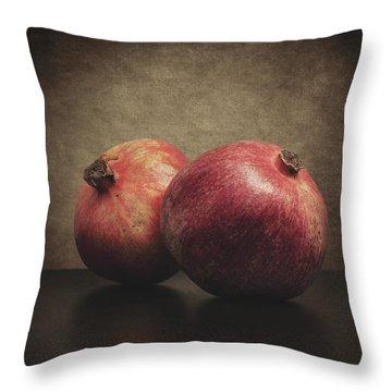 Pomegranate Throw Pillow by Taylan Apukovska