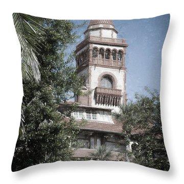 Ponce De Leon Hall Throw Pillow