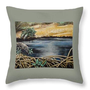 Pond 1 Throw Pillow
