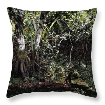 Pond Apple-1 Throw Pillow