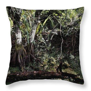 Pond Apple-1 Throw Pillow
