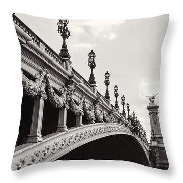 Pont Alexandre IIi Throw Pillow