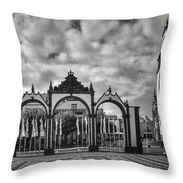 Ponta Delgada Gates Throw Pillow