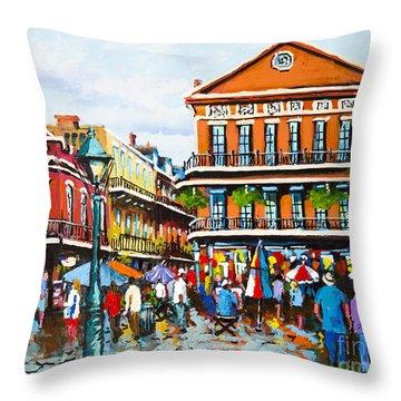 Pontabla Throw Pillow