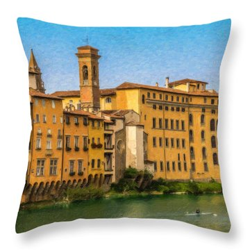 Ponte Vecchio Itl3304 Throw Pillow