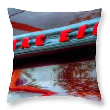 Pontiac Eight 14714 Throw Pillow