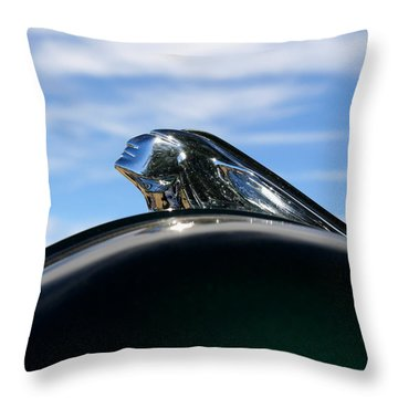 Pontiac Throw Pillow by Joe Kozlowski