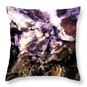 Pony Cave Molting Throw Pillow