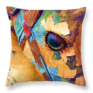Pony Throw Pillow by Julio Lopez