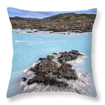 Pool Of Radiance Throw Pillow