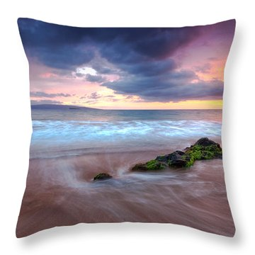 Poolenalena Pastels Throw Pillow