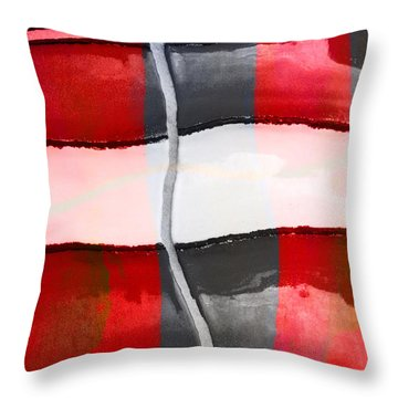 Poolside No. 1 Throw Pillow