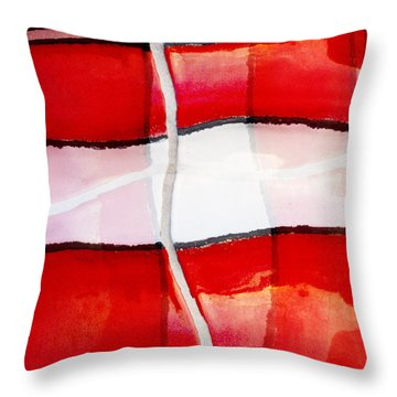 Poolside No. 2 Throw Pillow
