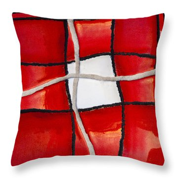Poolside No. 4 Throw Pillow