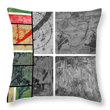 Throw Pillow featuring the photograph Poor And Rich by Sir Josef - Social Critic - ART