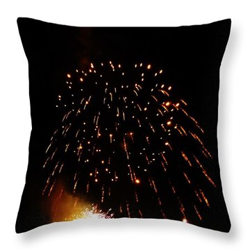 Throw Pillow featuring the photograph POP by Amar Sheow