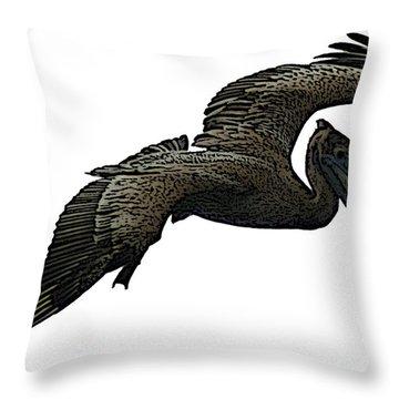 Pop Art - Pelican Selection Throw Pillow