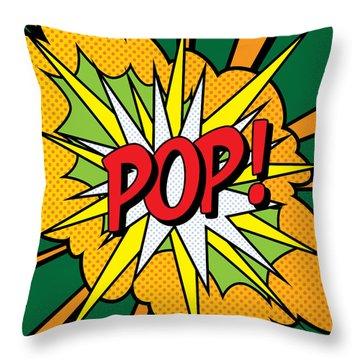 Pop Art 4 Throw Pillow