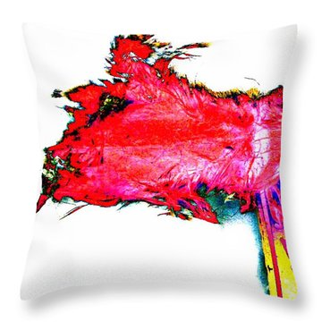 Throw Pillow featuring the photograph Pop Art Mousetrap by Marianne Dow