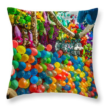Pop One And You Win  Throw Pillow