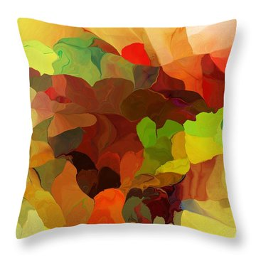 Throw Pillow featuring the digital art Popago by David Lane