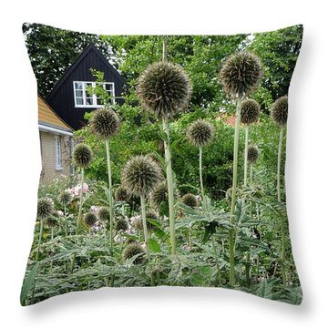 Poppies In August Throw Pillow