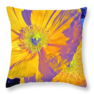Poppy 14 Throw Pillow